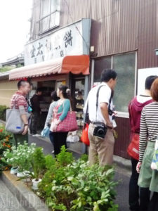 金太郎煎餅さんの工房見学