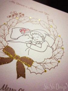 クリスマスカード詳細