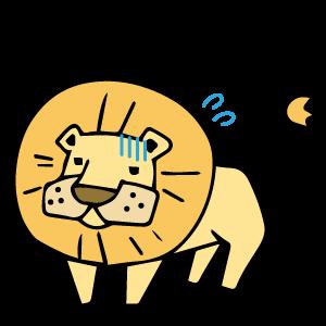 シシってライオンのつもりなんだけどね。なかなか通じないんだよね。